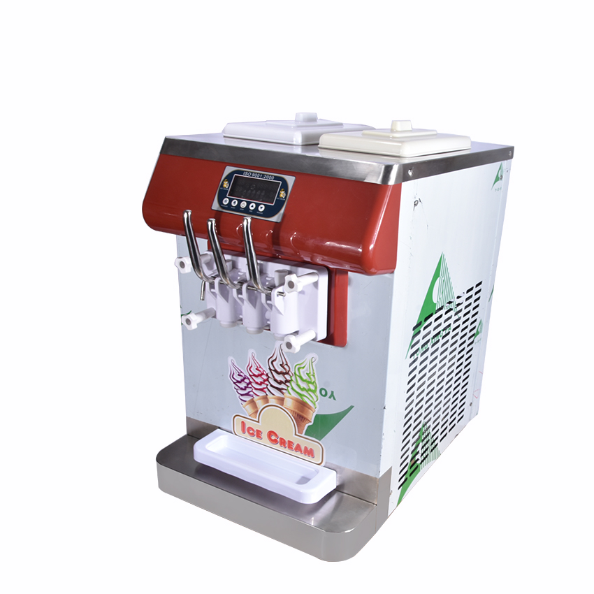 ICM-335 three color ice cream Countertop Soft Serve Ice Cream Machine Frozen Yogurt Ice Cream Machine R404a 110V,220V 18-25L/H женская футболка other 2015 3d loose batwing harajuku tshirt t a50