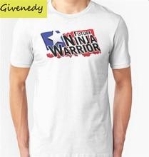 Future Ninja Warrior T-Shirt 2016 New Plus Size Men's Summer Casual T-shirt Fashion Slim Short Sleeve O Neck T Shirts