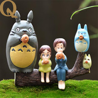 2017 New Small Garden Ornaments A Set Of Micro Landscape Moss Resin Decoration Resin Decoration Model