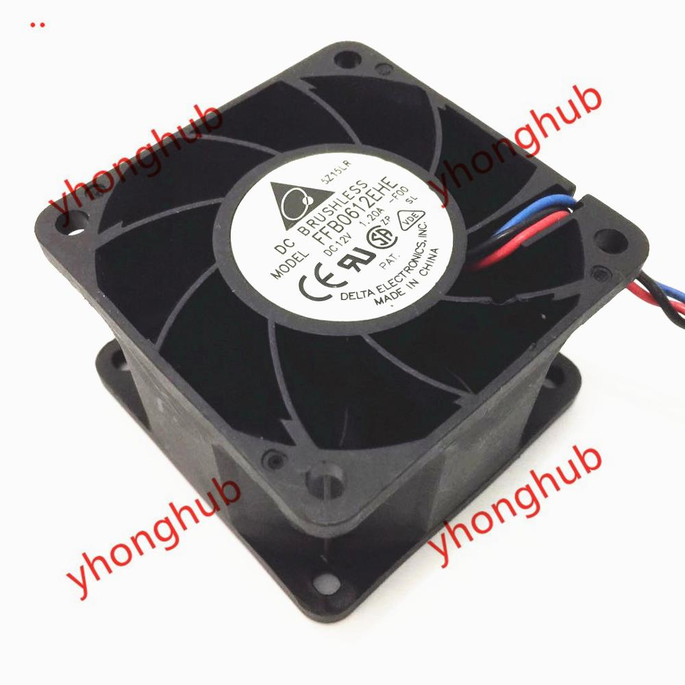 Delta electronic ffb0612ehe 60x60x38 cooling fan