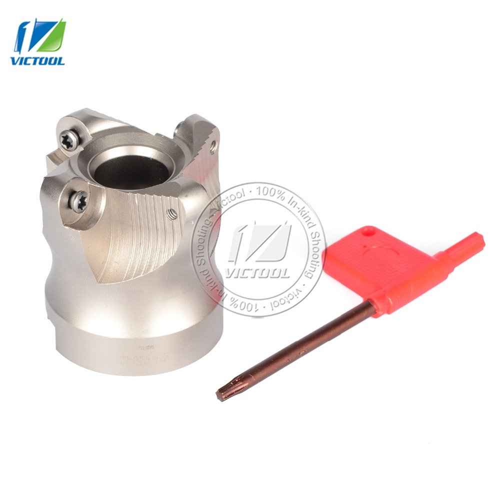 ФОТО Indexable milling tools R2006R50-22-4T  high speed steel Material cnc milling machine Insert of carbide inserts