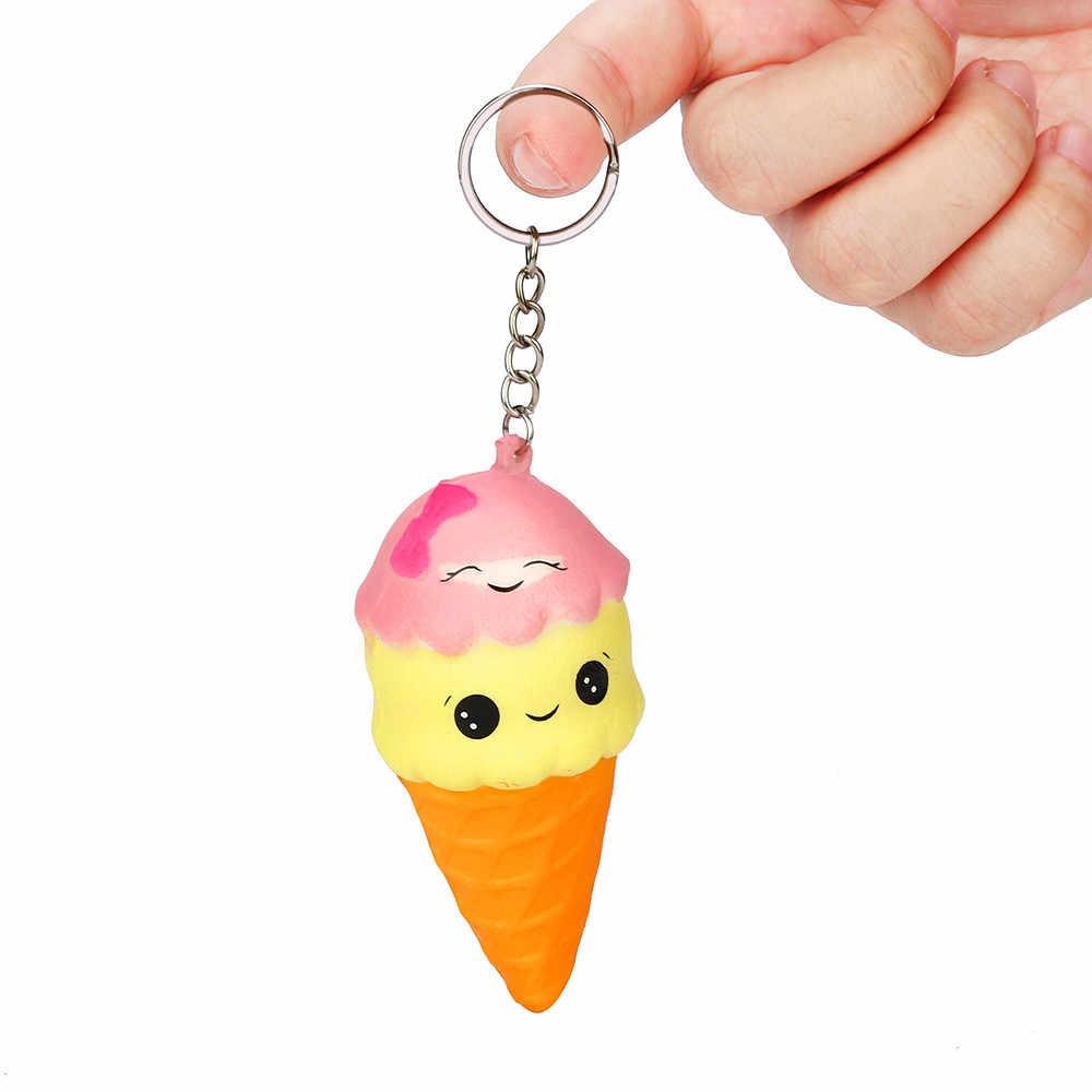 Squee crème glacée spongieuse lente montée parfumée soulager le Stress jouet cadeaux spongieux lente montée presser jouets Collection Z0402
