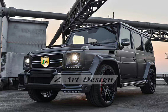US $2849 05 5% OFF|FOR Brabus body kit for Mercedes Benz G500 Tuning kit  for Mercedez Benz G class W463 free shipping DOOR TO DOOR-in Body Kits from