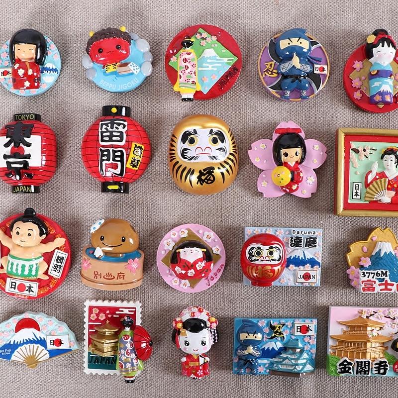 Tourist Souvenir Refrigerator Magnet Japan Tokyo Japan