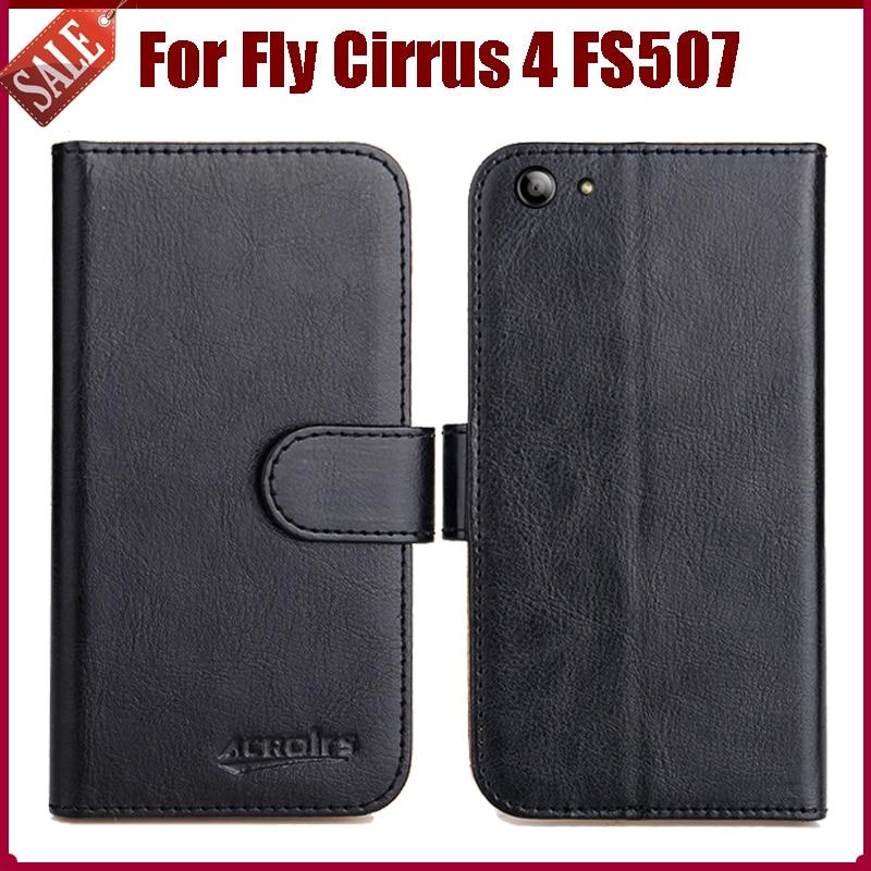 Fly Cirrus 4 FS507 Hülle, hochwertige Mode Brieftasche Stand Flip - Handy-Zubehör und Ersatzteile