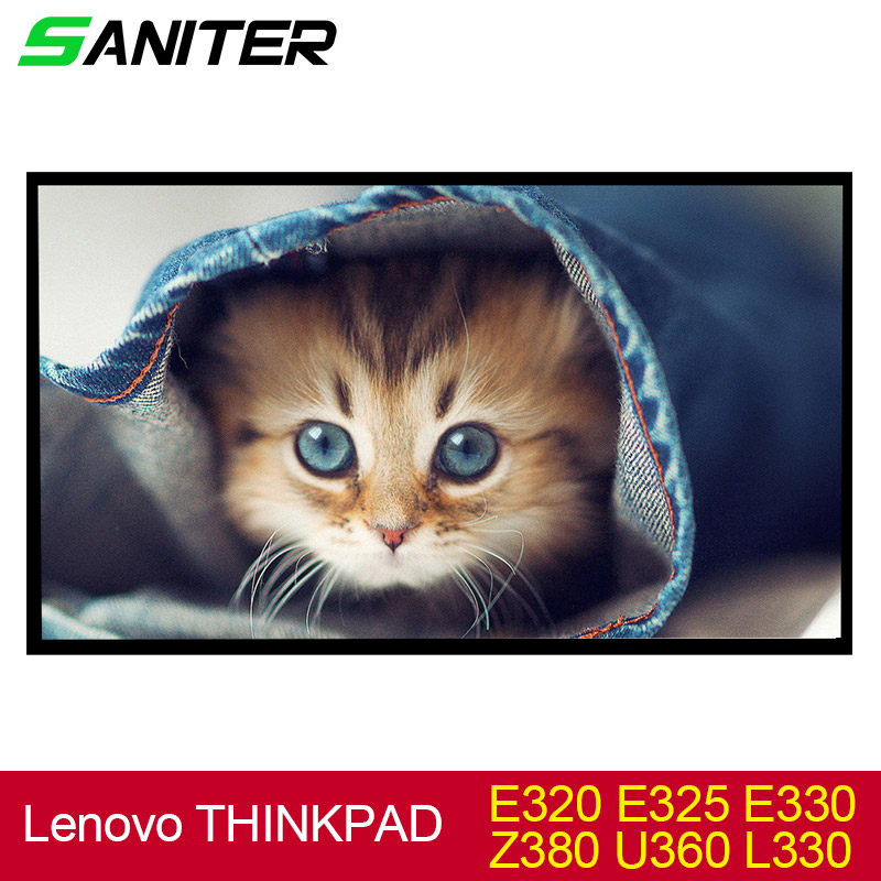 SANITER Apply to Lenovo THINKPAD E320 E325 E330 Z380 U360 L330 Laptop LCD Screen saniter ltn140kt08 801 apply to samsung np700z3a s03us special 14 inch high score laptop lcd screen