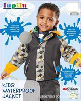 2018 autumn winter girl Boys Waterproof Windproof jacket Kids Ski Jacket Children Outdoor Warm Hooded Sports coat
