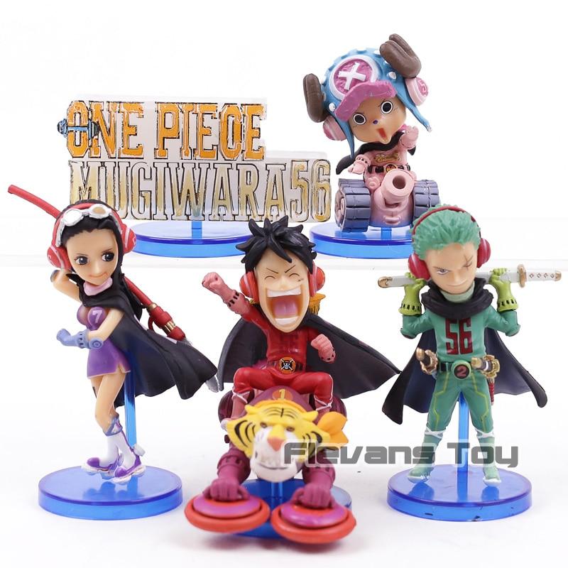Banpresto One Piece World Collectable Figure WCF Mugiwara56 vol.1 Luffy Zoro Robin Chopper 5pcs/set hatsune miku winter plush doll