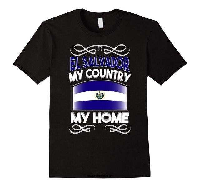 1079049b9 Men Funny T Shirt Women Cool tshirt El Salvador My Country My Home National  Flag T-Shirt