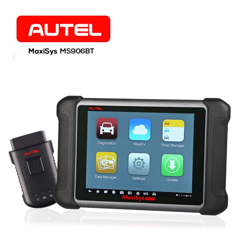 Original AUTEL MaxiSys MS906BT Wireless Car Diagnostic Tool OBD2 Code Reader Wifi Bluetooth Connection ECU Coding/ Programing
