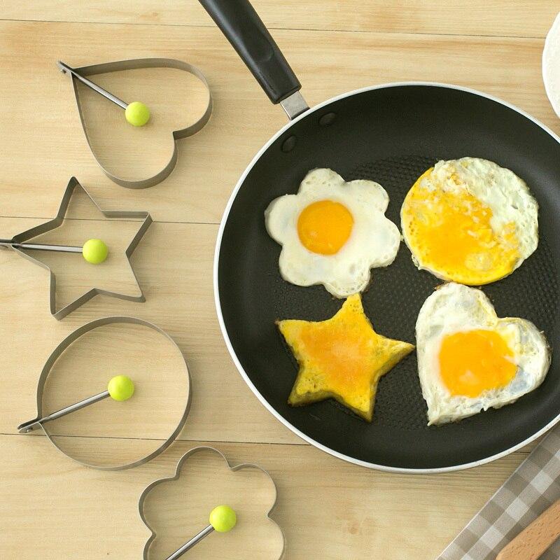Nouvelle année en acier Inoxydable coeur omelette moule amour oeuf bricolage petits outils 60566