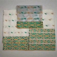 3 в 1 швейцарской кружевной ткани 2018 самый тяжелый вышивка бисером Африканский хлопок ткани швейцарская вуаль кружева популярные Дубай Стиль LU70101
