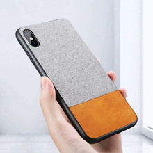 Fashion Leather with Soft Fabric Case For iPhone XS MAX XR X 8 7 6 6S Plus Silicon Warm Plush Soft Color Phone Back Cover Cases missbuy for apple iphone 11 pro max x xs max xr 8 7 6s 6 plus case plush warm fashion soft back cover cases fundas for iphone 11