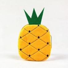 Casual Fruit Pattern Type Women Watermelon Orange Coin Phone Bag Wallet Purse Zipper Fruit Handbag Plush