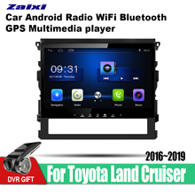 ZaiXi Android Car GPS Multimedia Player For Toyota Land Cruiser 2016~2019 car Navigation radio Video Audio Car Player Bluetooth zaixi android car gps multimedia player for toyota fj cruiser 2006 2018 car navigation radio video audio car player bluetooth