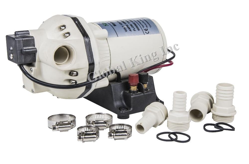 24V 180W Low Pressure 40PSI/2.8Bar Adblue DEF Urea Acid DC Diaphragm pump For IBC System Marine/RV Distillation Equipment Gener все цены
