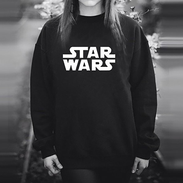 Black Star Wars Sweatshirt