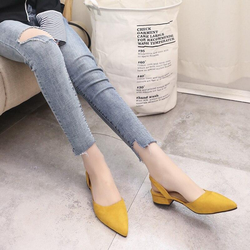 2018 Summer Women Sandals Open Toe Flip Flops Womens Sandles Thick Heel Women Shoes Korean Style Gladiator Shoes