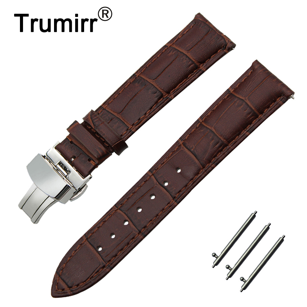 18mm 20mm 22mm Calf Genuine Leather Watch Band Quick Release Strap for Tissot T035 PRC200 T055 T097 Wrist Belt Bracelet Black tissot t055 427 11 057 00