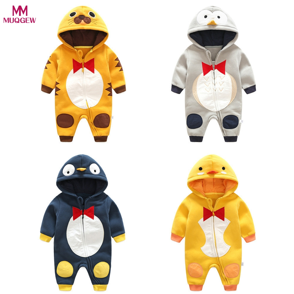 Spring Autumn Winter Baby Clothes Animal Rompers Baby Boys Clothes Cartoon Animals Jumpsuits Infant Girls Rompers Baby Clothing cotton baby rompers set newborn clothes baby clothing boys girls cartoon jumpsuits long sleeve overalls coveralls autumn winter