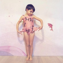 2018 Kids Baby Girls Cartoon Bikini Summer Sleeveless Beachwear Infantil Boys Clothes Bathing Suit Swimwear Swimsuit Bobo Choses