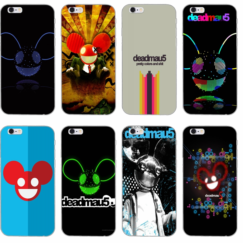 Deadmau5 silicone TPU Soft phone case For Samsung Galaxy S3 S4 S5 S6 S7 edge S8 Plus mini Note 3 4 5