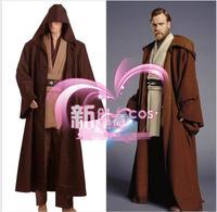 Star Wars Costume Jedi Cloak Tops Pants Cosplay Men Suit Movie Cosplay Costumes Star Wars Full Costume M XL