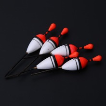 15pcs/Lot Plastic Vertical Buoy Sea Fishing Floats Attachment Rubbers Fishing Lures 3 Size Fish Float Chamber Fish Floats Set