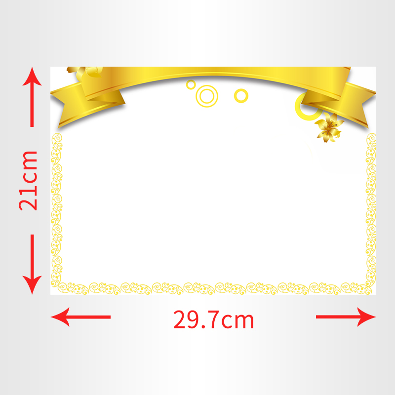 YIBAI A4 Dry Wipe Magnetic Whiteboard Mini Office Notice Memo free 1