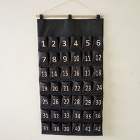 Multilayer 42 Pockets Hanging Organizers Socks Bra Underwear Clothing Wardrobe Storage box Space Saver Home Sundries Hanging Bag