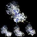 STZ 3g de Uñas Glitter Sparkling Clear Nail Art Lentejuelas Láser decoración de Diseño Ultrafino de 3mm de BRICOLAJE 4 Rebanada de Uñas Herramientas SZ01-04