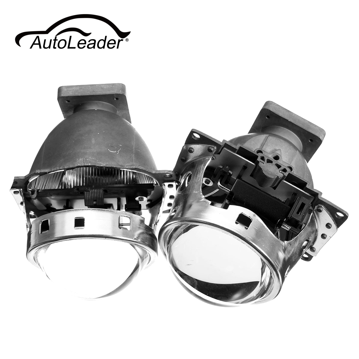 AutoLeader Hid-Bi Xenon Projector Lens LHD For Car Headlight 3.0 Koito Q5 35W Can Use with D1S D2S D2H D3S D4S Headlamp 2 5 mini bi xenon projector lens can use with d2s d2h hid xenon bulb for h4 car headlamp easy install