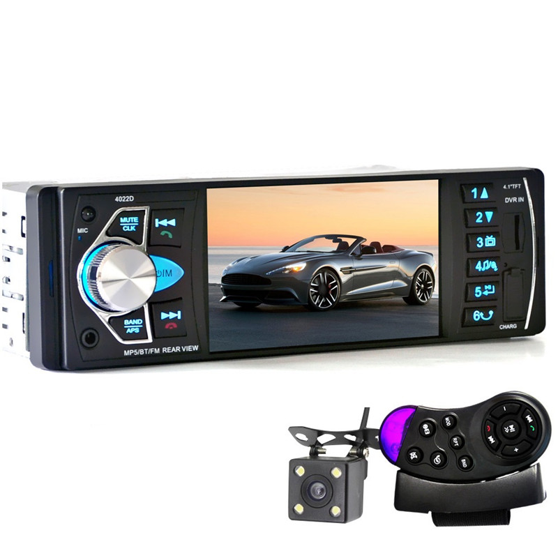 4022D 4 1 Car Mp3 MP5 DVD Player Bluetooth Car Loudspeaker Fm Transmitter SD USB TV