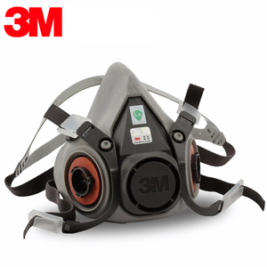 Image 3 - 9in1 3M 6200 Half Facepiece Gas Mask Respirator With 6001/2091 Filter Fit Painting Spraying Dust Proof