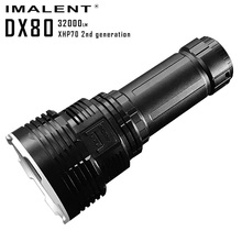Original IMALENT DX80 Rechargeable LED Flashlight Cree XHP70 32000 lumens torch 806 meters powerful flashlight to search