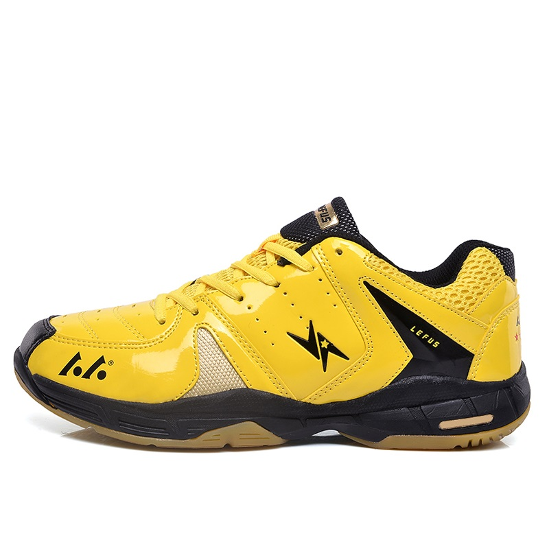 Man Wear-Resistant Volleyball Shoes Sports Stability Anti-Slip Ping Pong Shoes Breathable Cushioning Table Tennis Shoes AA11107 aldomour breathable volleyball shoes sneakers stability anti slip ping pong shoes breathable table tennis shoes volleyball shoes