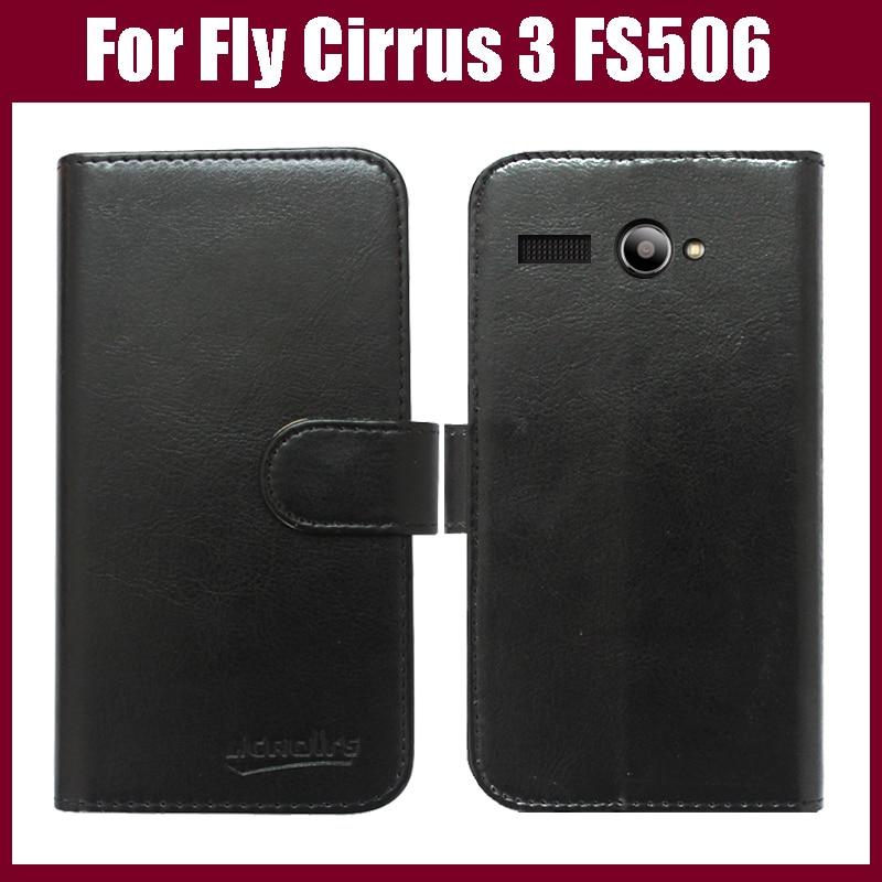 Fly Cirrus 3 FS506 Väska Nyanlända Högkvalitativ Flip Läder - Reservdelar och tillbehör för mobiltelefoner