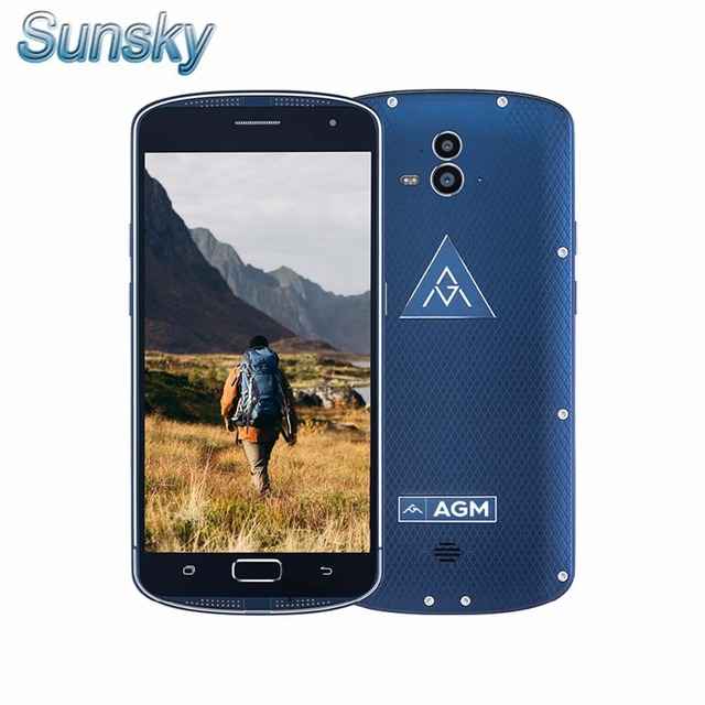 AGM X1 IP68 Waterproof 5400mAh Snapdragon 617 Octa-core 4G Smartphone 4GB+64GB 5.5inch 13.0MP AMOLED 1080P Touch ID Mobile Phone