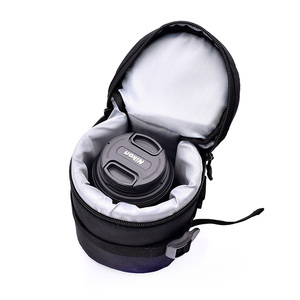 Image 4 - Zipper Photo Thick Protective Lens Case Pouch Bag Compatible with Canon Nikon Sony Olympus Panasonic DSLR Camera