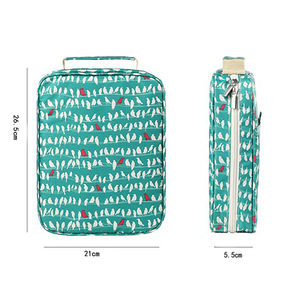 Image 4 - Korea Multifunction 150 Slot School Pencil Case & Bags Large Capacity Artist Canvas Pen Curtain Box Students Gifts Art Supplies