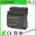 XLogic ПЛК, ASCII и MODBUS RTU поддерживается, подключение Ethernet, интеллектуальный контроллер ELC-12DC-DA-TN-CAP