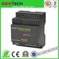 XLogic PLC, ASCII/RTU MODBUS suportado, conectividade Ethernet, controlador inteligente ELC-12DC-DA-TN-CAP