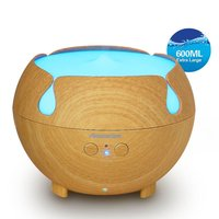 Aromacare LED Night Light Essential Oil Ultrasonic Air Humidifier Electric Aroma Diffuser Aromatherapy Dry Protection Home