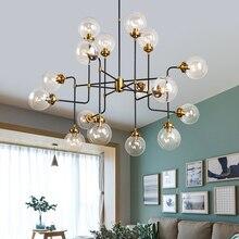 led e27 Nordic Iron Glass designer Magic Bean LED Lamp LED Light.Pendant Lights.Pendant Lamp.Pendant light For Dinning Room Bar