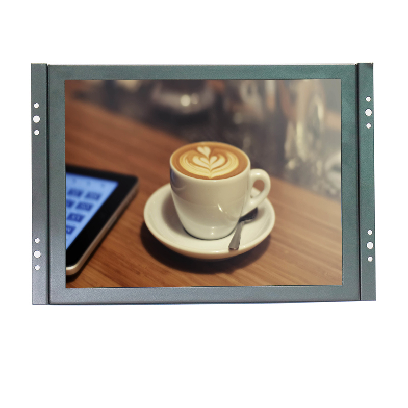 10 inch LCD monitor display 800*600 LED monitor display industrial monitor open frame monitor with VGA/BNC/AV/HDMI/USB input 10 10 1 lcd monitor display vga usb av hdmi bnc interface metal shell embedded frame industrial control lcd monitor 1366 768