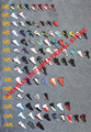 146pcs/lot free shipping pvc rubber shoe key chain air jordan shoe keychains shoes keyring