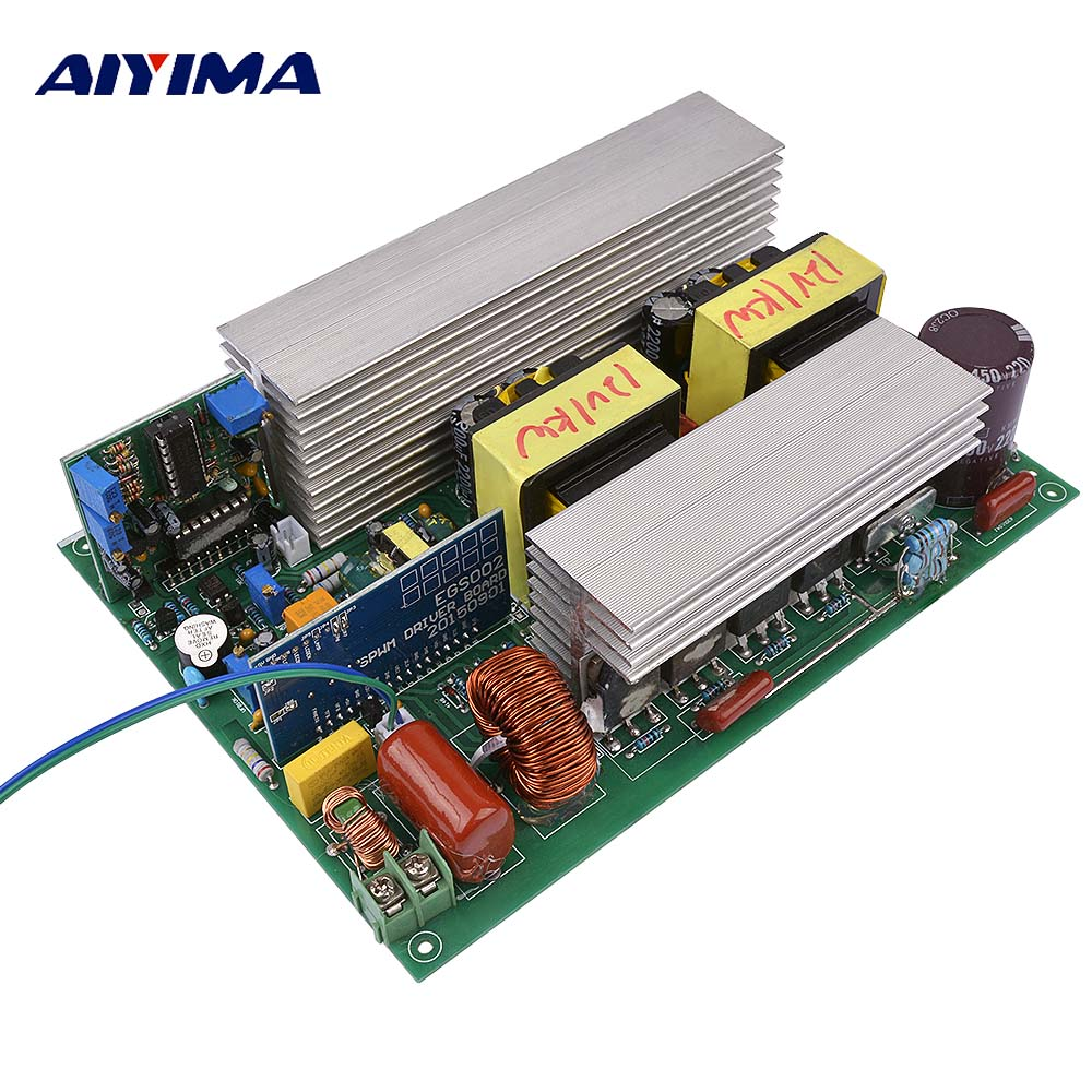 AIYIMA 1000W DC12V To AC220V Pure Sine Wave Inverter Solar Energy Converter Low Frequency Core Transformer
