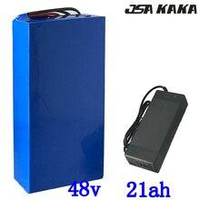 Высокая мощность 2000 Вт 48 В 20AH Электрический велосипед батарея 48 В 20AH E-Bike батарея 48 вольт, литиевая батарея с 50A BMS 2A зарядное устройство Tax Free