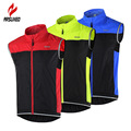 ARSUXEO Cycling Vest Windproof Waterproof MTB Bike Bicycle Breathable Reflective Clothing  Cycling Jacket Sleeveless 15V1