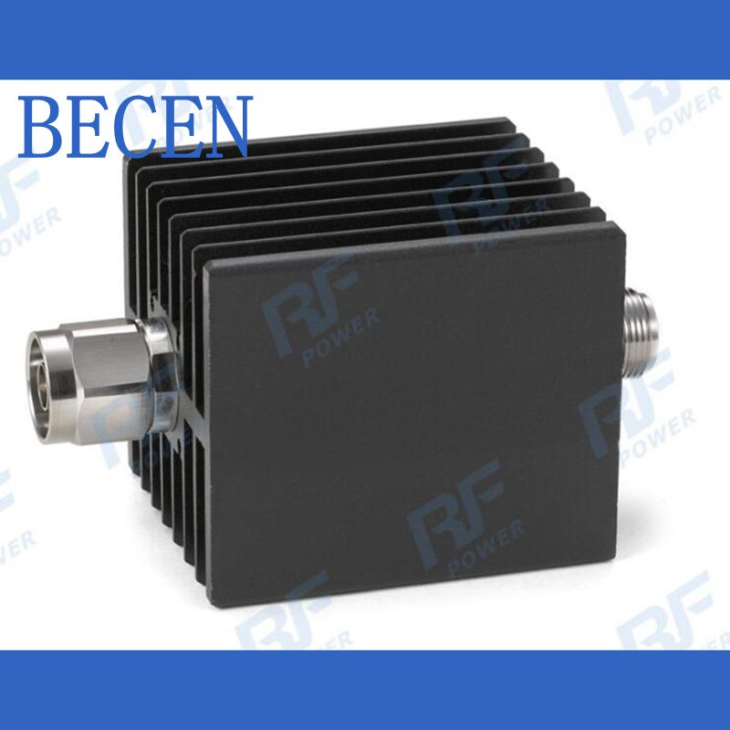 50W N-MF Coaxial RF Attenuator DC to 6GHz ,50ohm,1/3/6/10/15/20/30dB 2w bnc j k coaxial rf attenuator dc 6 0ghz 1 30db 50 ohm free shipping